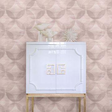 Picture of Alchemy Blush Geometric Wallpaper