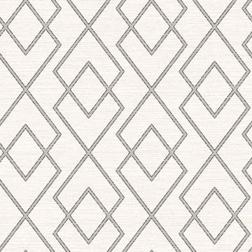 Picture of Blaze Cream Trellis Wallpaper