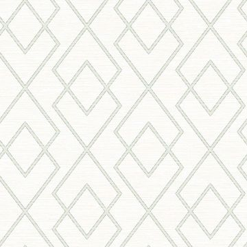 Picture of Blaze Off-White Trellis Wallpaper
