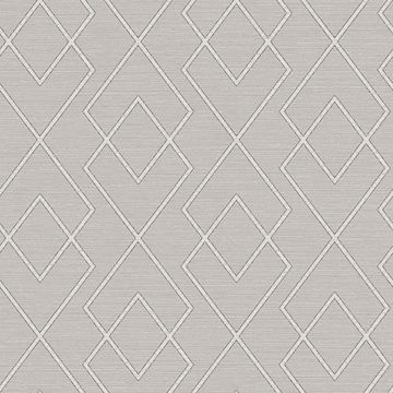 Picture of Blaze Taupe Trellis Wallpaper