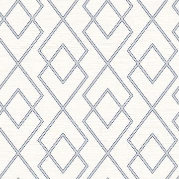 Picture of Blaze Eggshell Trellis Wallpaper