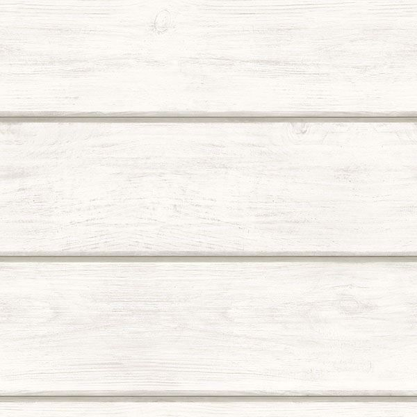 Picture of Cassidy Off-White Wood Planks Wallpaper