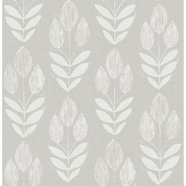 Picture of Garland Dove Block Tulip Wallpaper