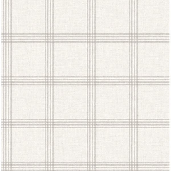 Picture of Twain Dove Plaid Wallpaper