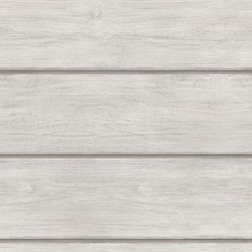 Picture of Cassidy Light Grey Wood Planks Wallpaper