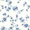 Picture of Cyrus Blue Festive Floral Wallpaper