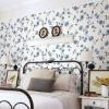 Cyrus Blue Floral Wallpaper