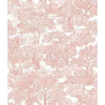 Picture of Spinney Rose Toile Wallpaper