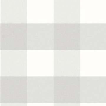 Picture of Amos Light Grey Gingham Wallpaper