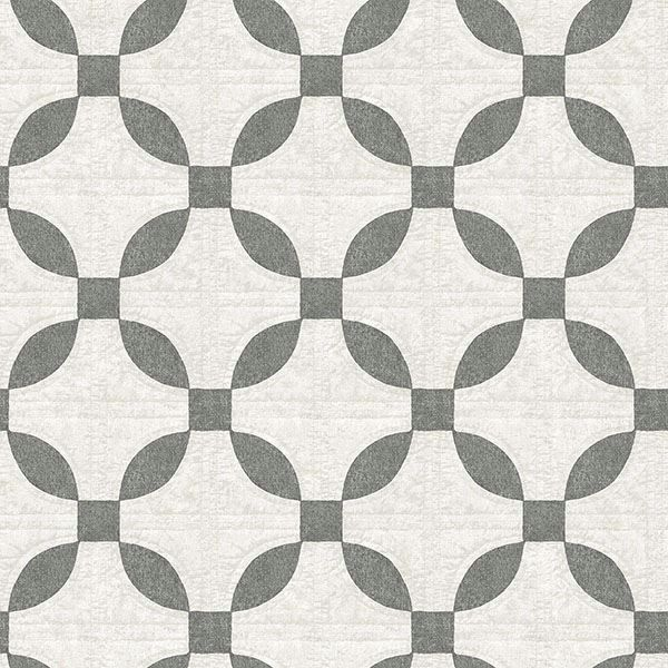 Picture of Justice Charcoal Quilt Wallpaper