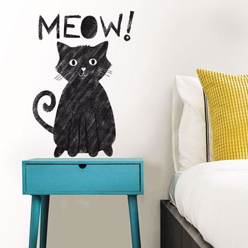 Picture of Meow Wall Quote Decals