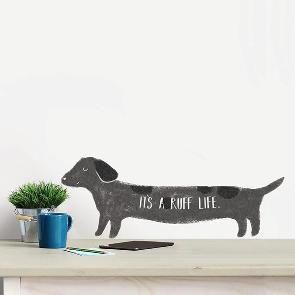 Picture of It's a Ruff Life Wall Quote Decals