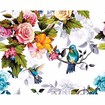 Picture of Hummingbird Garden Wall Mural
