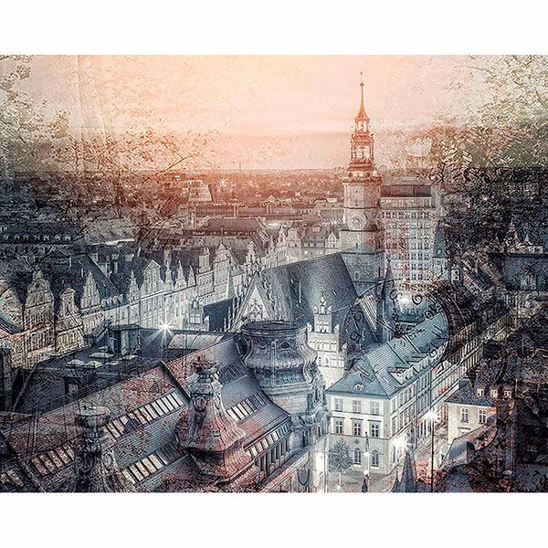 Picture of Wroclaw Market Poland Wall Mural