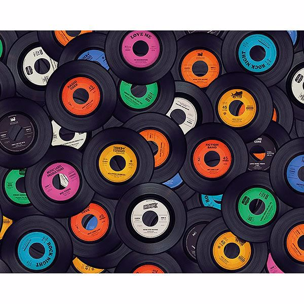 Picture of Vinyl Music Wall Mural