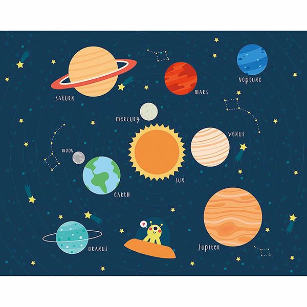 Picture of Outer Space Wall Mural