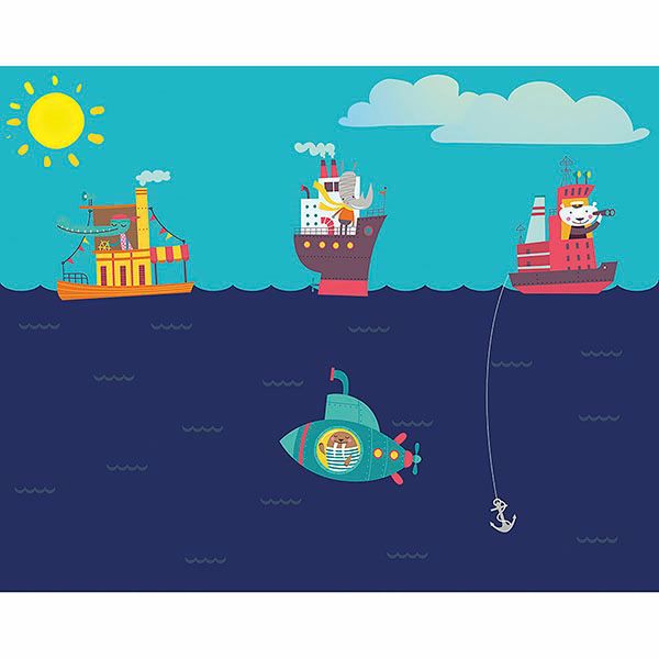 Picture of Nautical Adventures Wall Mural