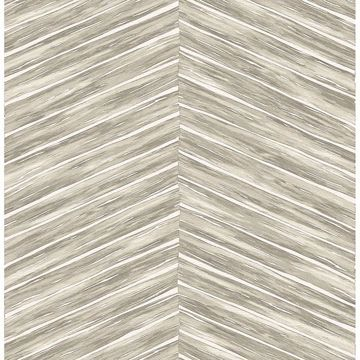 Picture of Aldie Beige Chevron Weave Wallpaper
