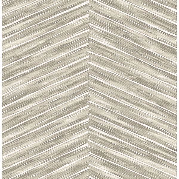 Picture of Aldie Beige Chevron Weave Wallpaper
