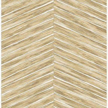 Picture of Aldie Khaki Chevron Weave Wallpaper