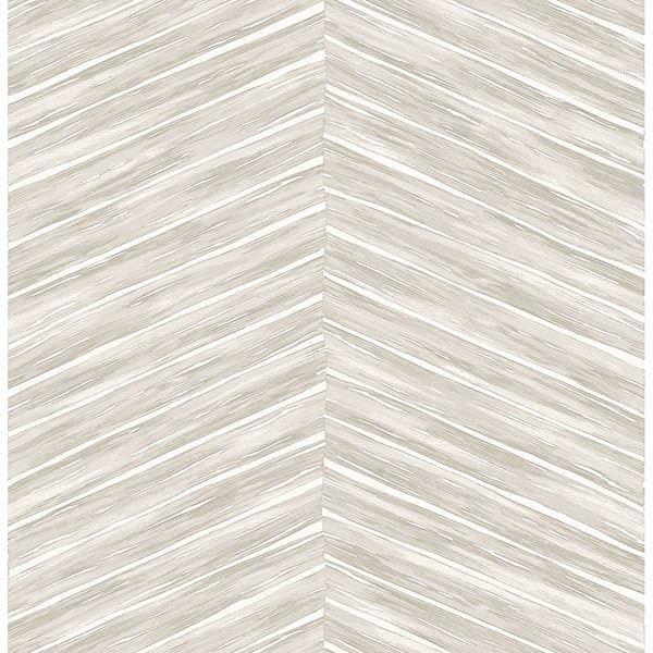 Picture of Aldie Off-White Chevron Weave Wallpaper