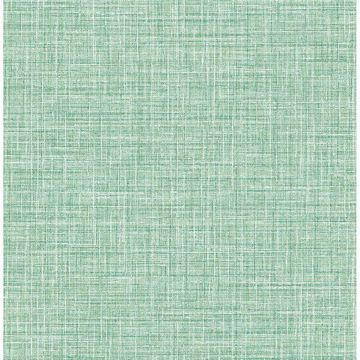 Picture of Barbary Green Crosshatch Texture Wallpaper