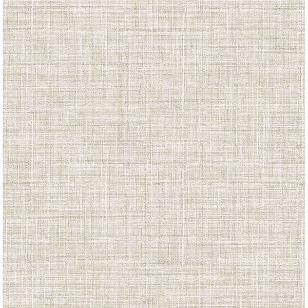 Picture of Barbary Light Brown Crosshatch Texture Wallpaper