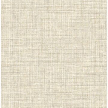 Picture of Barbary Neutral Crosshatch Texture Wallpaper