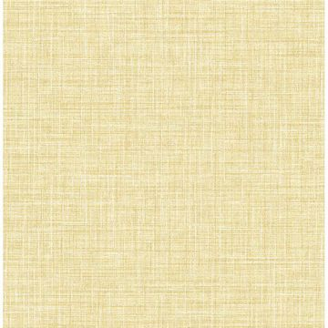 Picture of Barbary Yellow Crosshatch Texture Wallpaper