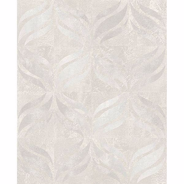 Picture of Beallara Light Grey Ogee Wallpaper