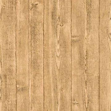 Picture of Cereus Beige Wood Panel Wallpaper