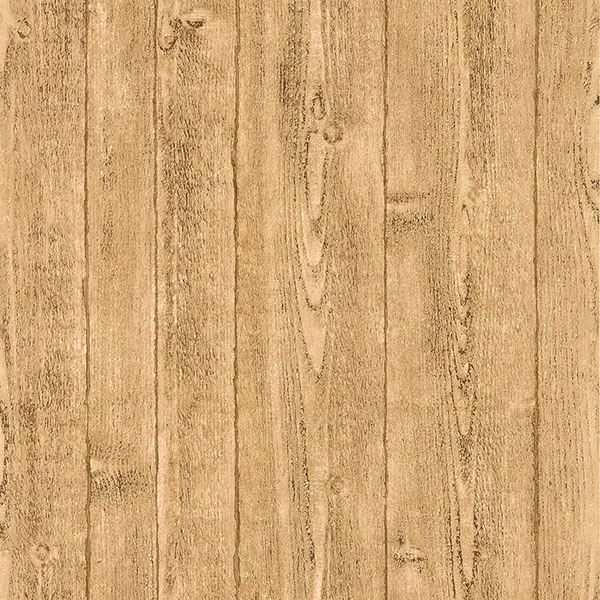 Picture of Cereus Beige Wood Panel Wallpaper