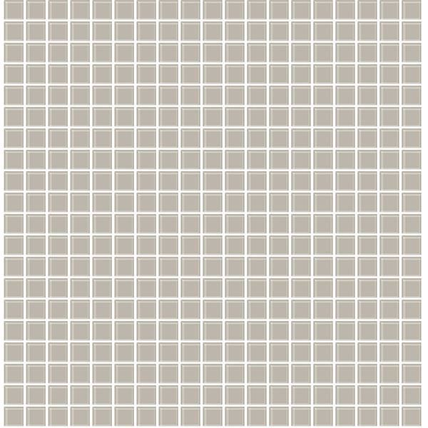 Picture of Crystalline Taupe Glass Tile Wallpaper