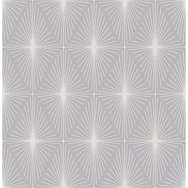 Picture of Draper Grey Geometric Wallpaper