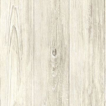 Picture of Ferox Cream Wood Planks Wallpaper