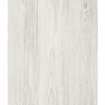 Ferox Eggshell Wood Planks Wallpaper