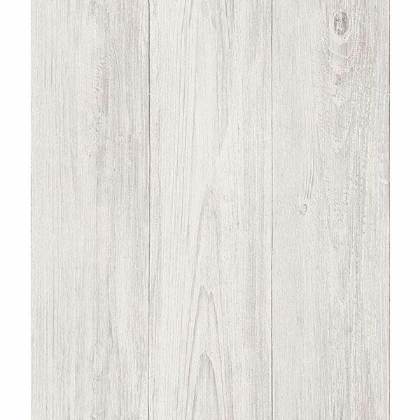 Ferox Eggshell Wood Planks Wallpaper