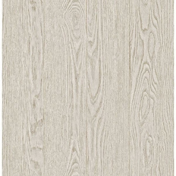 Picture of Groton Dove Wood Plank Wallpaper