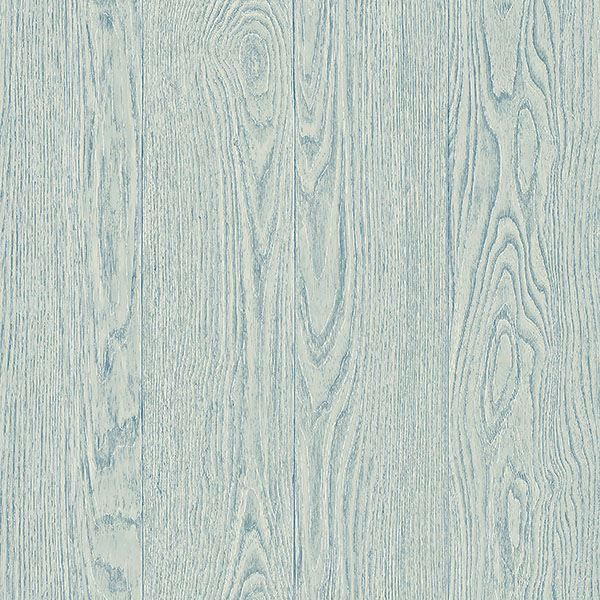 Picture of Groton Light Blue Wood Plank Wallpaper