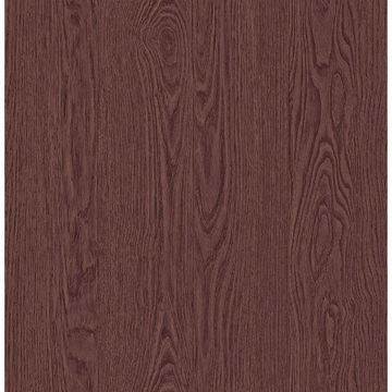 Picture of Groton Mahogany Wood Plank Wallpaper