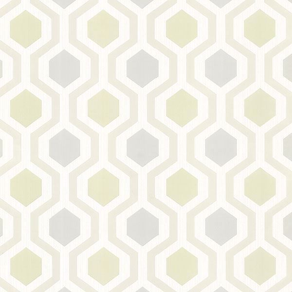 Picture of Kelso Seafoam Geometric Wallpaper