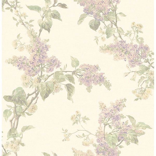 Picture of Lyon Lavender French Lilac Wallpaper