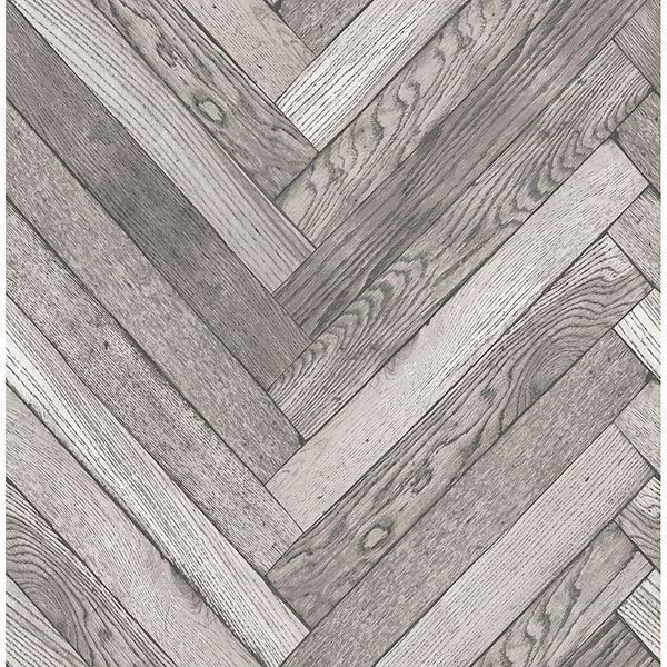 Picture of Mammoth Light Grey Diagonal Wood Wallpaper