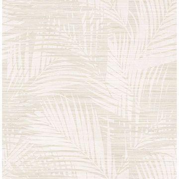 Picture of Motmot Cream Palm Wallpaper
