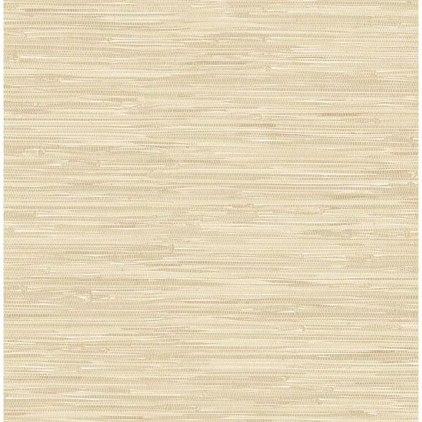 Picture of Poa Wheat Faux Grasscloth Wallpaper