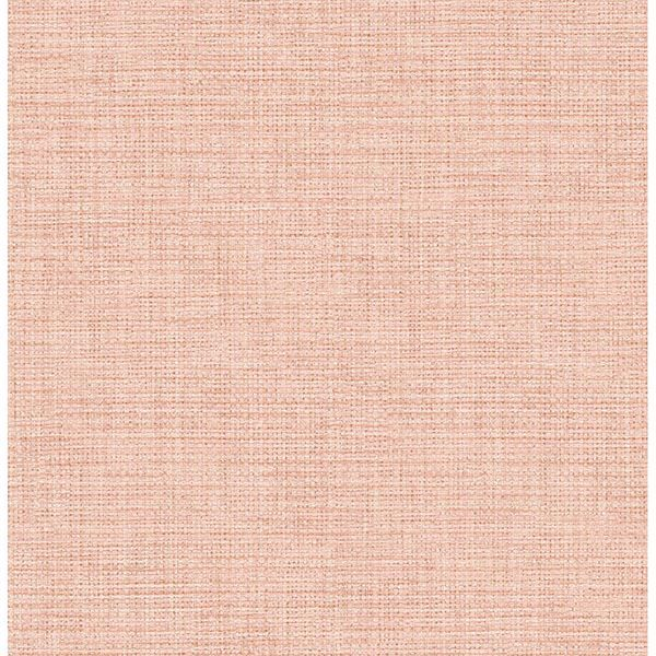 Picture of Pratt Pink Grass weave Wallpaper