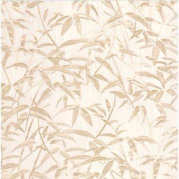 Picture of Vanda Cream Milano Leaves Wallpaper
