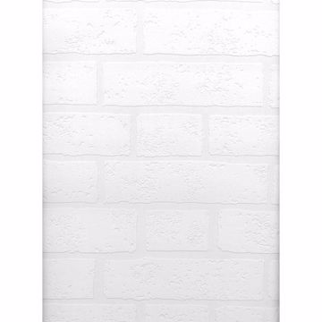 Picture of Bridgers Paintable Brick Wallpaper
