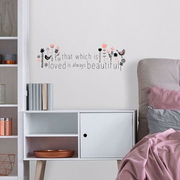 Picture of That Which is Loved Wall Quote Decals