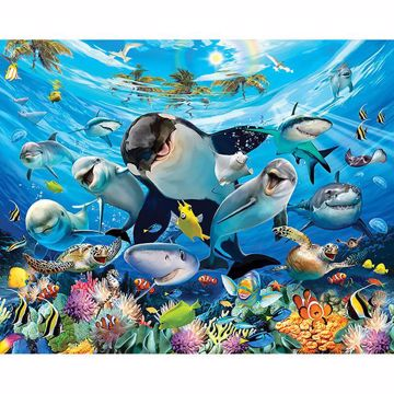 Sea Adventure Wall Mural